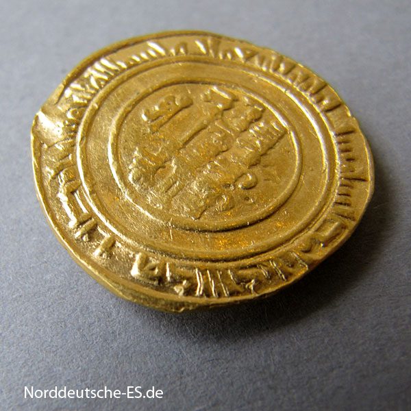 Afrika Gold Dinar 1036-1094 Fatimiden Al Mustansir