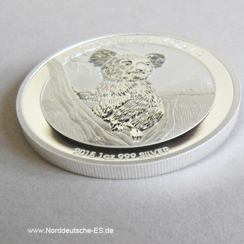 Australien 1 oz Koala Silbermünze 2015