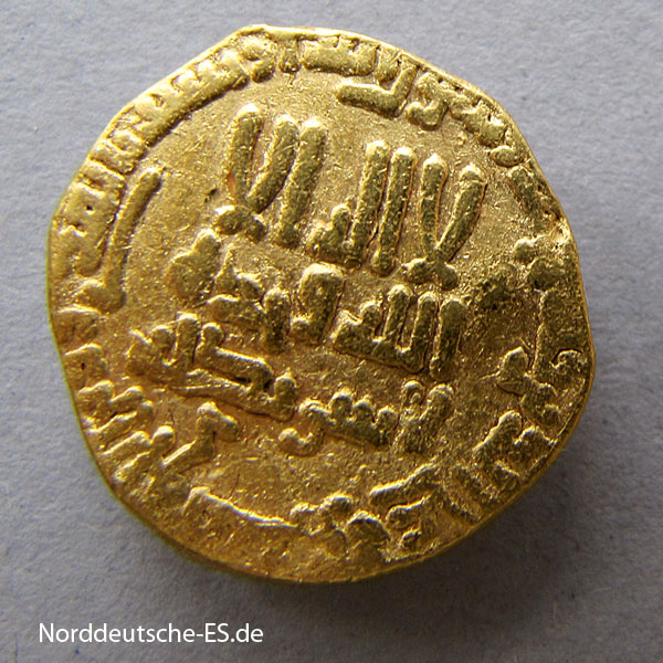 Afrika Asien Gold Dinar Abbasiden Al Mahdi 775-785