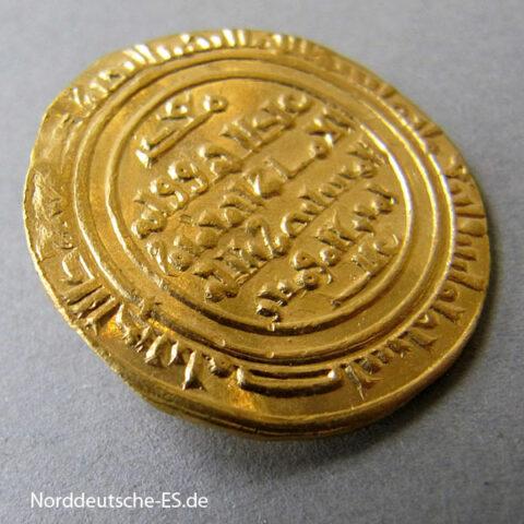 Nordafrika Gold Dinar 1036-1094 Fatimiden Kalif Al Mustansir