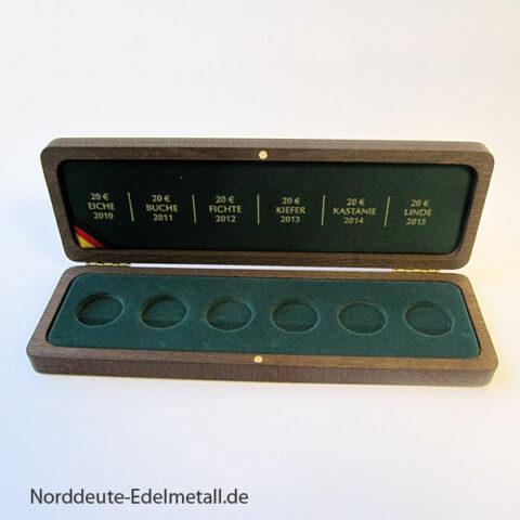 Original Sammelbox VfS 20 Euro Goldmünzen Deutscher Wald