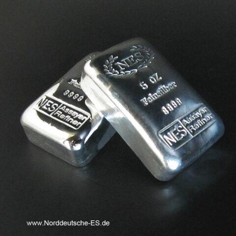 Silberbarren-5-oz-Norddeutsche-ES