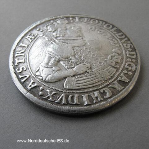 Österreich 1 Taler Habsburg Erzherzog Leopold V 1619-1632 Tirol