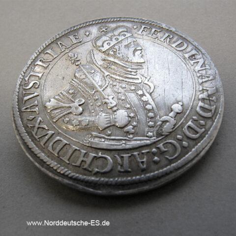 Österreich 1 Taler Habsburg Ferdinand 1564 -1595 Tirol