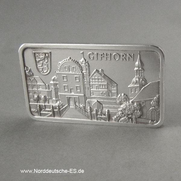 Silberbarren 1 oz Feinsilber 999 Heraeus Gifhorn