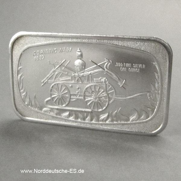 USA Motivbarren 1 oz Silber Madison Mint Adriatic No31