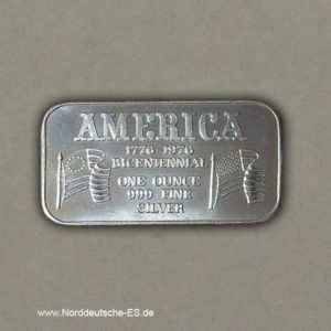 USA-Silberbarren-1-oz-1776-1976-Bicentennial-999-Finesilver