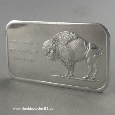 USA Silberbarren 1 oz Bison 1776-1976 Bicentennial