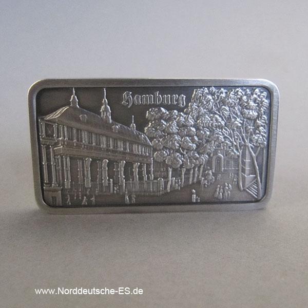 Feinsilberbarren 1 Unze Heraeus Alte Börse Hamburg 1838