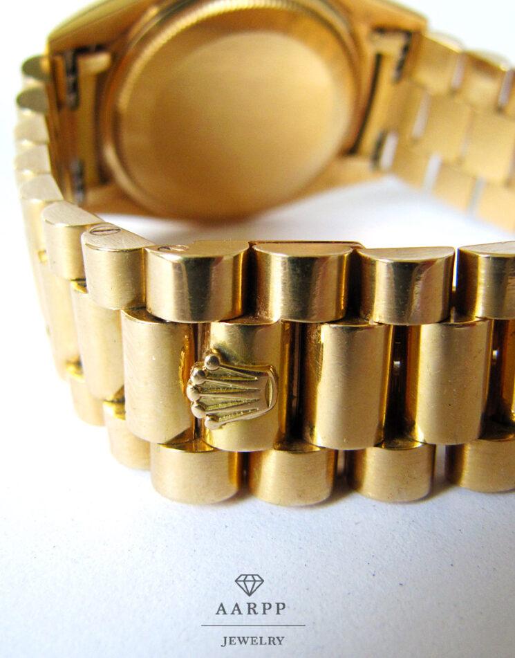 Rolex-Dayjust-President-1601-Gelbgold-750-Herrenuhr07-