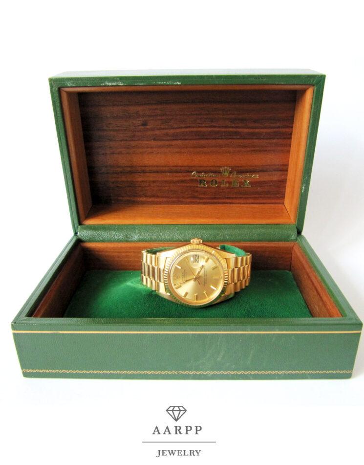 Rolex-Dayjust-President-1601-Gelbgold-750-Herrenuhr09