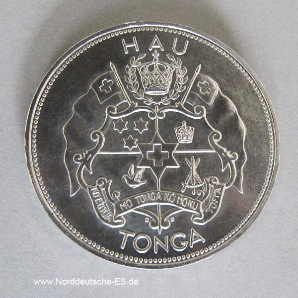 Tonga Palladium Münzen Set 1967