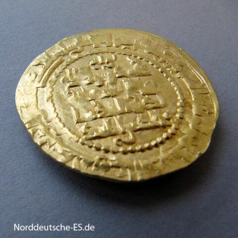 Irak Mossul Gold Dinar 1219-1233 Zangiden Nasir ad-Din Mahmud
