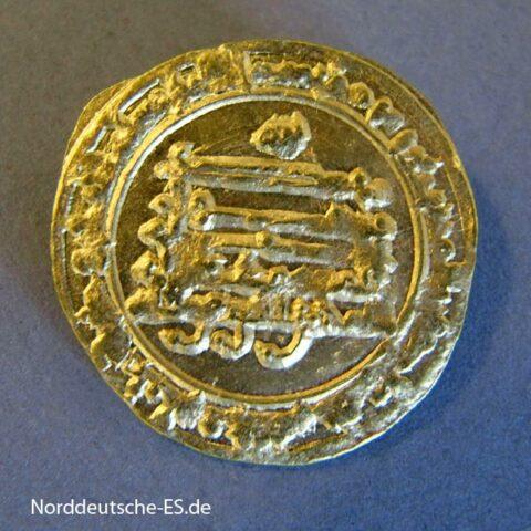 Abbasiden Gold Dinar 888-889 Al-Mutamid