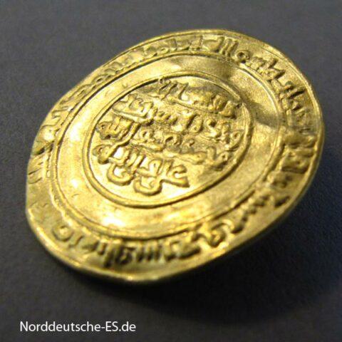 Fatimiden Gold Dinar 1036-1094 Al Mustansir