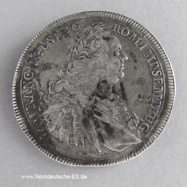 Konventionstaler 1764 Augsburg Franz I