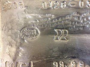 30kg Silberbarren 999,9 aus Kasachstan Feinsilber