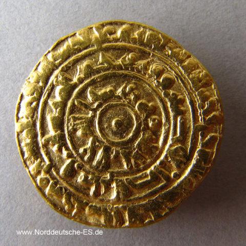 Fatimiden Gold Dinar 953-975 Kalif Maʿadd Al-Muʿizz