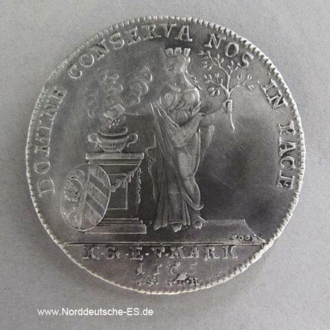 Nürnberg Taler 1765 Franziskus I Silbermünze