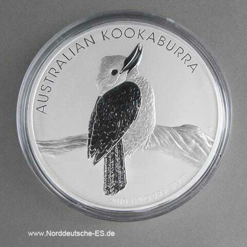 Australien 1 Kilo Feinsilber Kookaburra 2010