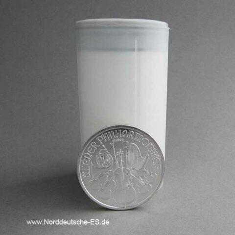 Österreich 20er Tube 1 oz Silber Wiener Philharmoniker
