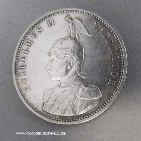 Deutsch Ostafrika 1 Rupie Silber Wilhelm II 1890-1902