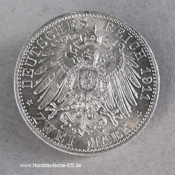 2 Mark 1911 Bayern Luitpold
