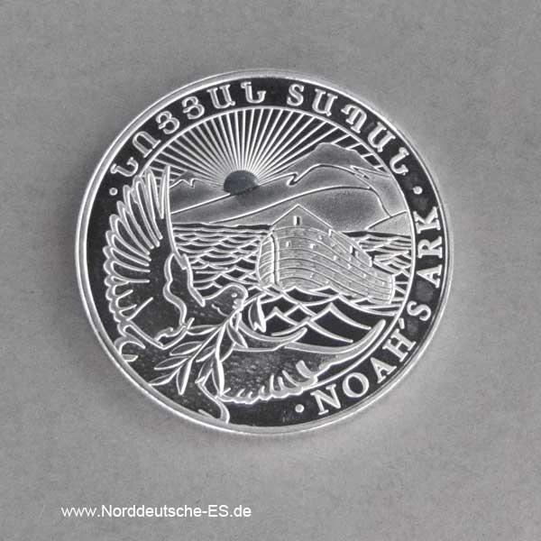 Armenien 1_2 oz Silber Arche Noah 20er Tube