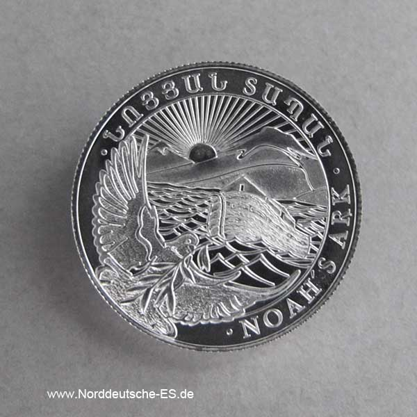 Armenien 1_4 oz Silber Arche Noah