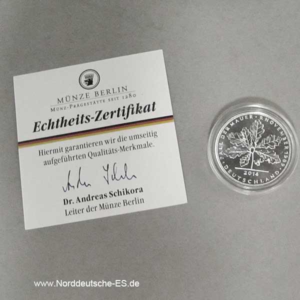 Deutschland Berlin 1_4 oz Silber Quadriga 2014