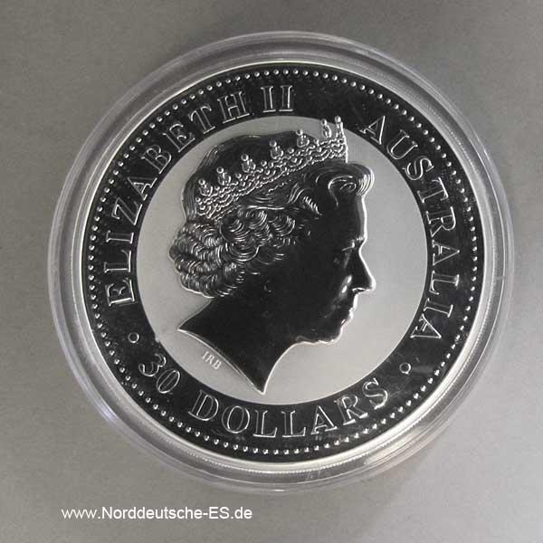 Silbermünze 1 Kilo Kookaburra 2009