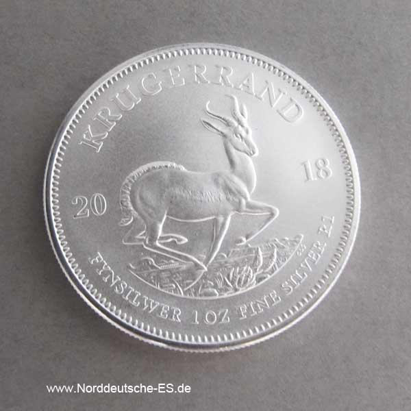 Krügerrand 25er Tube 1 oz Silber