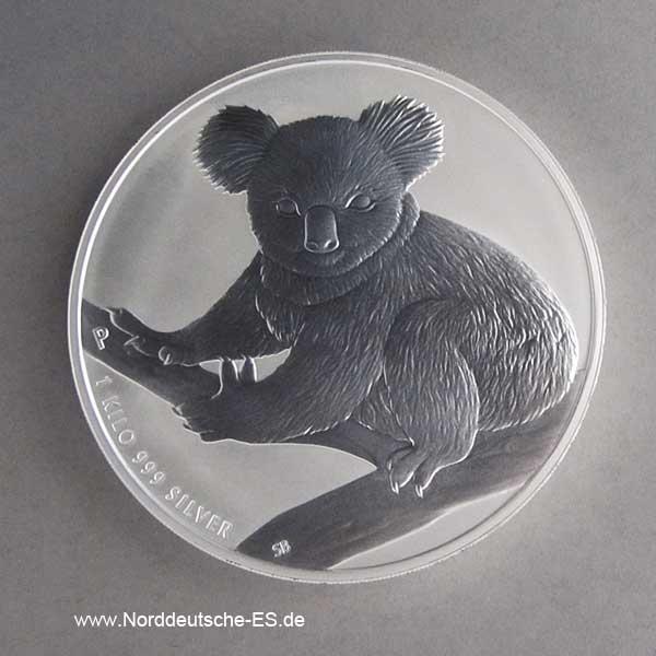 Australien 1 Kilo Silber Koala 2009