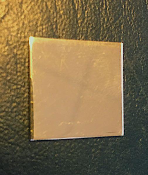 Goldblech 585 Gelbgold 3
