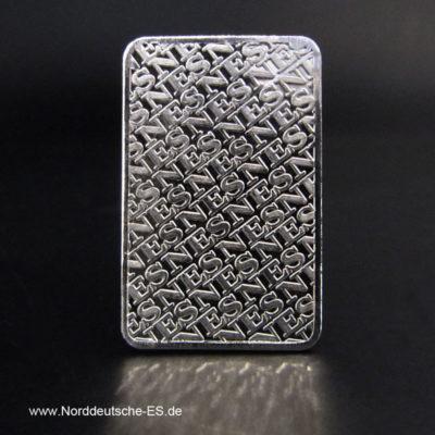 20 g Platinbarren 999.5 Norddeutsche Edelmetall
