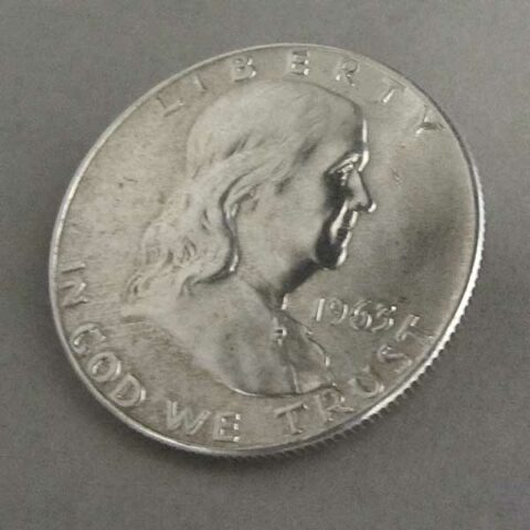 USA Half Dollar Silber Franklin 1948-1963
