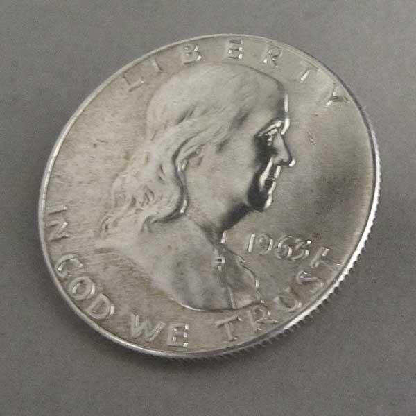 USA Half Dollar Silber Franklin 1948-1963
