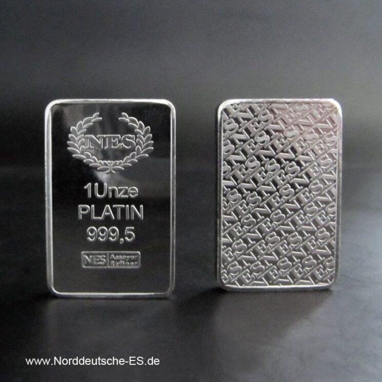 1 Feinunze PLATIN 9995