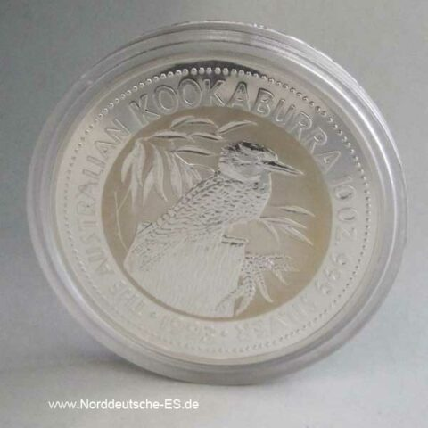 Australien Kookaburra 10 OZ Silber 1993