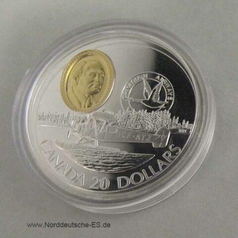 Canada 20 Dollar 1993 Motorflug