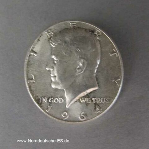 Half Dollar Silber Kennedy 1964