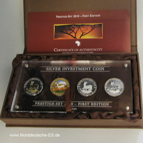 Malawi Prestige-Set 2010-First Edition Zertifikat