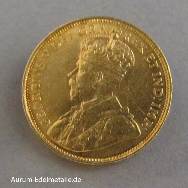 Umlaufmünzen Gold