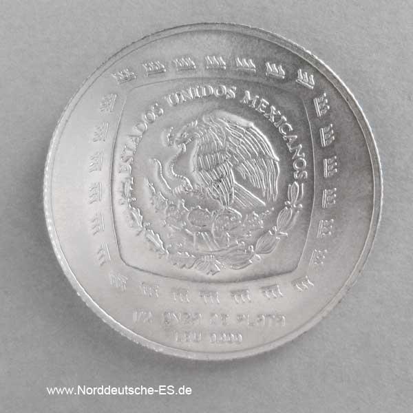 Silbermünze Mexiko Senor de las Limas