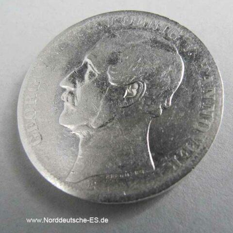 Vereinstaler 1863 B Hannover Georg V