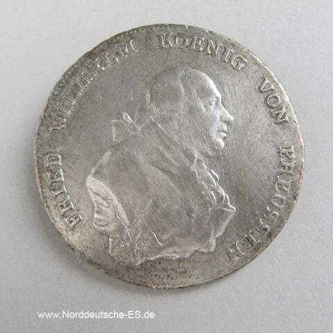 1 Taler Wilhelm Preussen 1794 A