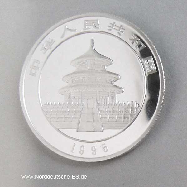 5 Yuan 1995 1_2 oz Panda
