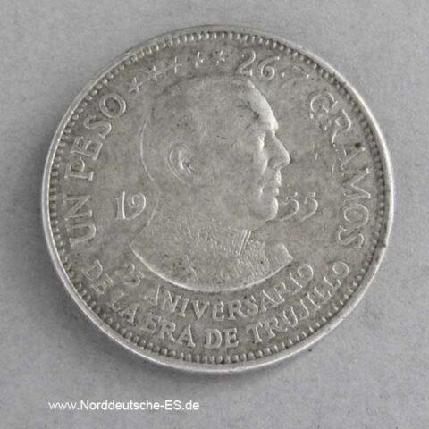 Dominikanische Republik 1 Peso 1955