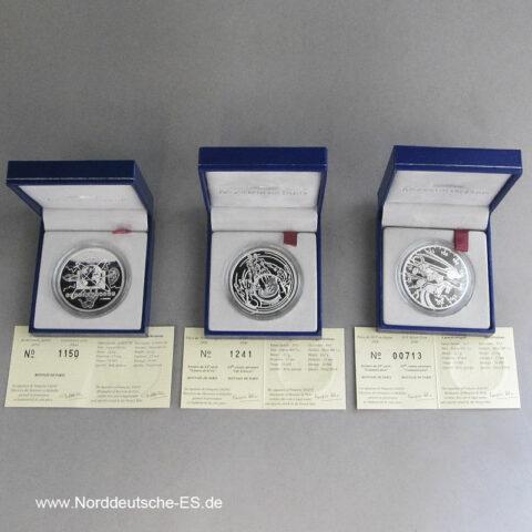 10 Francs Silbermünze Monnaie de Paris