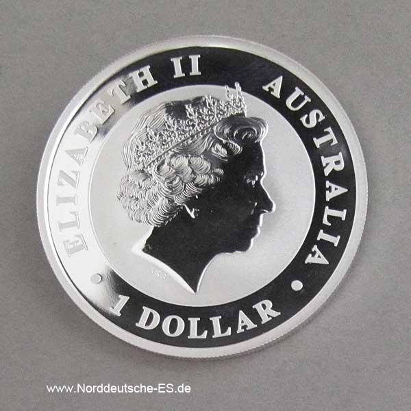 Australien 1 oz Silber Kookaburra
